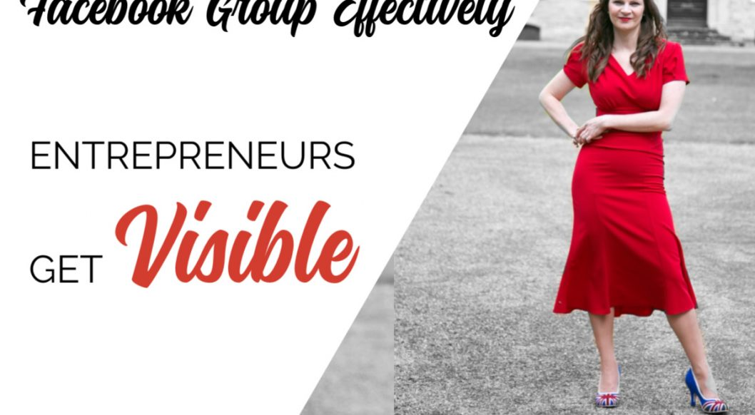 Anna Parker-Naples How to run a Facebook Group Effectively Entrepreneurs Get Visible Poidcast