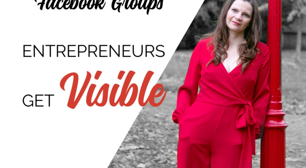 Anna Parker-Naples How to network in other peoples Facebook Groups Entrepreneurs Get Visible Podcast