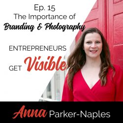 Anna Parker-Naples The importance of Branding and Photography Entrepreneurs Get Visible Podcast
