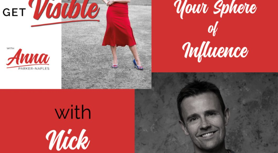 Nick Bradley Anna Parker-Naples Increasing Your Sphere of Influence Entrepreneurs Get Visible Podcast