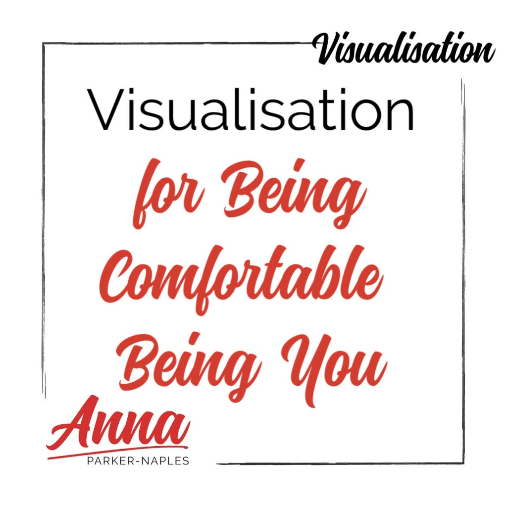 Being Comfortable Being You Visualisation